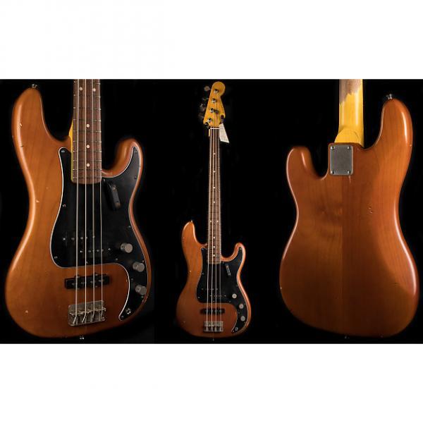 Custom Nash PB-63 Mocha 4-String Precision Bass Deluxe Guitar #1 image