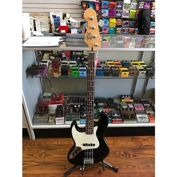 Custom Fender Jazz bass standard Left handed  Black #1 image