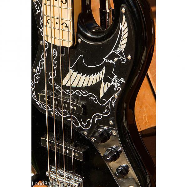 Custom New Old Stock Ibanez 2609B 2016 black eagle Jazz bass Maple neck Nirvana! #1 image