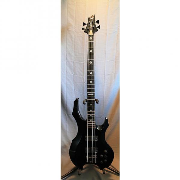 Custom ESP Tom Araya Custom Shop Signature Bass 2002 Black #1 image