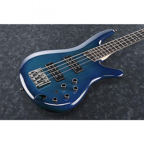 Custom Ibanez SR370E-SPB Sapphire Blue 4 String Bass #1 image