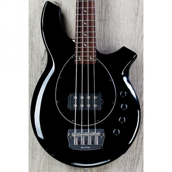 Custom Ernie Ball Music Man Bongo 4 H Bass, Black, Rosewood Board, 4-Band EQ #1 image
