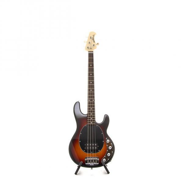 Custom Music Man StingRay 4 Electric Bass Guitar - Vintage Burst, Rosewood Fretboard, Black Pickguard #1 image