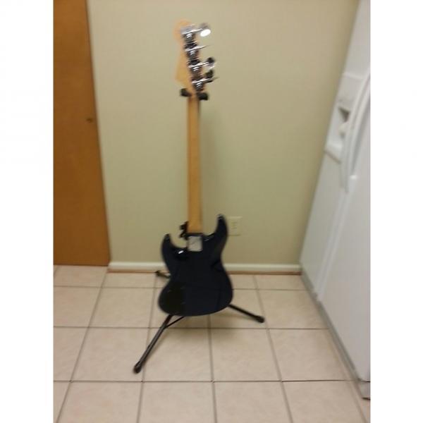Custom USA Jazz Bass 2010 Blue Flame #1 image