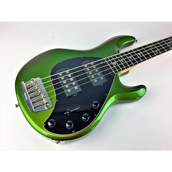 Custom Ernie Ball Music Man Stingray 5HH Dargie Delight 2 2009 Color Shifting Green #1 image