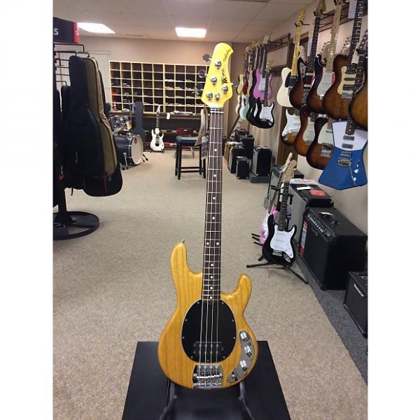 Custom Ernie Ball Music Man Classic 4-String Stingray Bass Guitar - Classic Natural Finish #1 image