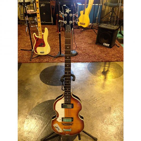 Custom Rogue VB-100 Beatles Bass sunburst hollow #1 image