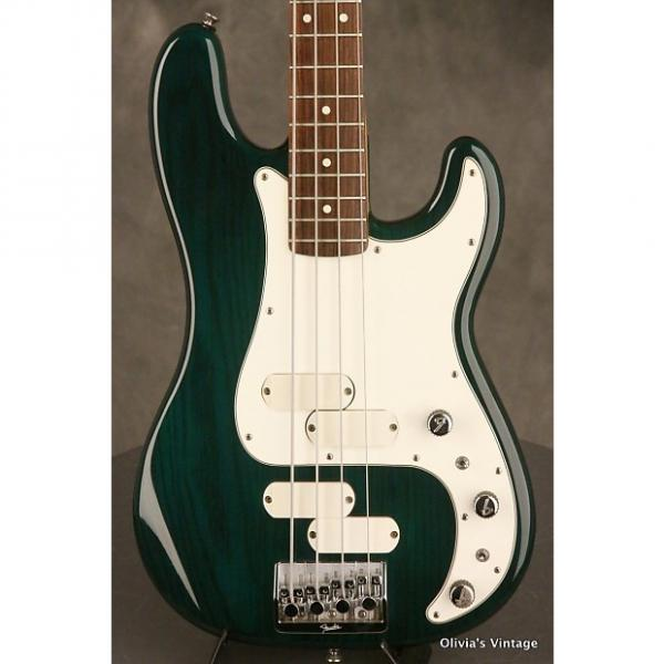 Custom Fender Elite II Precision P-Bass 1983 Transparent Emerald Green #1 image