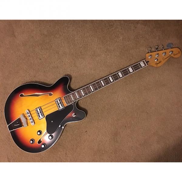 Custom Fender Coronado II Sunburst Bass Guitar #1 image