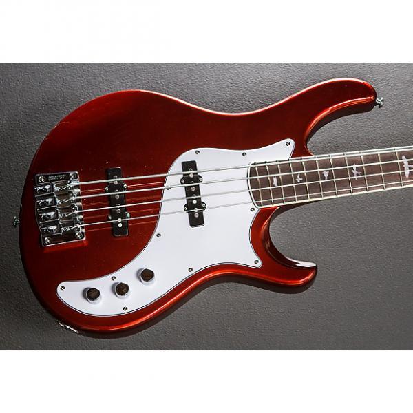 Custom Paul Reed Smith SE Kestrel Bass 2014 Metallic Red #1 image