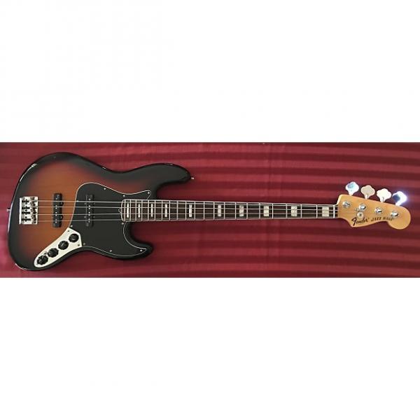 Custom Fender American Deluxe Jazz Bass 2013 3-Color Sunburst w/ Rosewood Fretboard #1 image