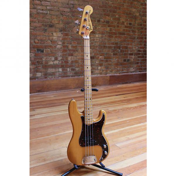 Custom Fender Precision Bass 1976 Natural Ash #1 image