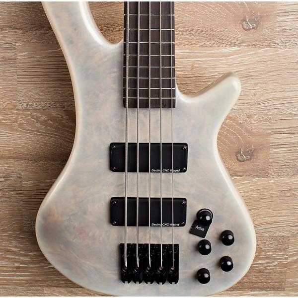 Custom 2017 Wolf S8-5 White Burst 5 String Neck Through Bass #1 image