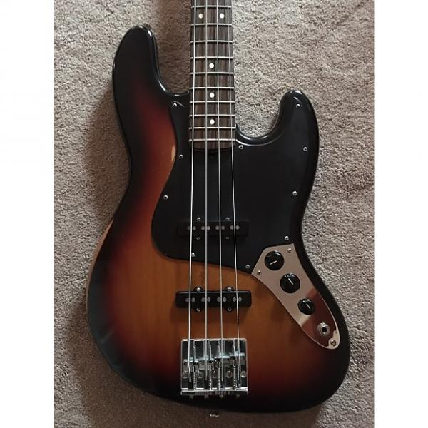 Custom Fender Highway One Jazz Bass 2007 Three Tone Sunburst #1 image