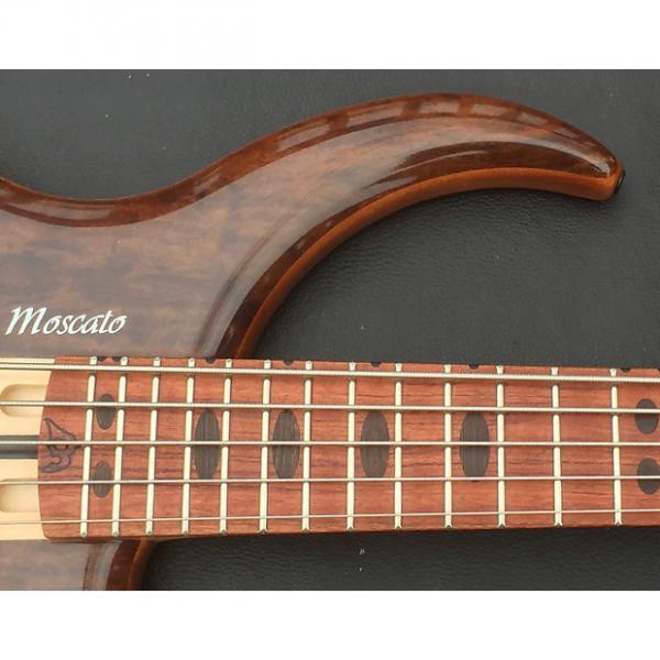 Custom Moscato Flona 2016 Gloss Custom Bass Guitar #1 image