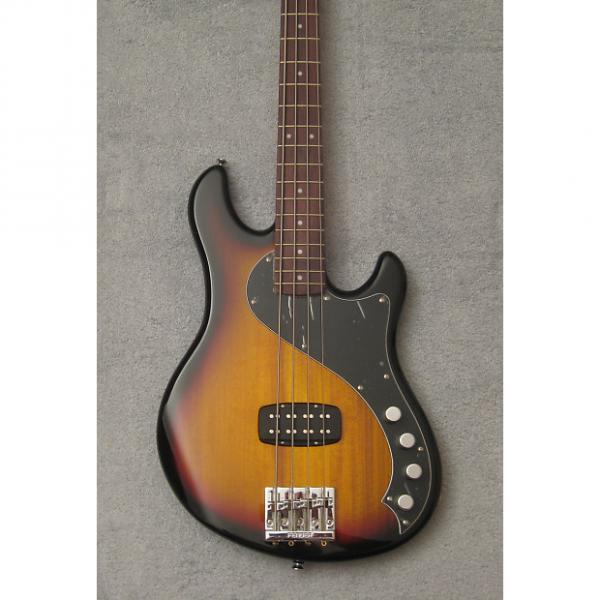 Custom Squier Deluxe Dimension IV Bass, Sunburst, NIB #1 image