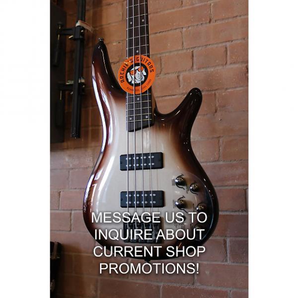 Custom Ibanez SR300E CCB Electric Bass 2016 Charred Champagne Burst #1 image