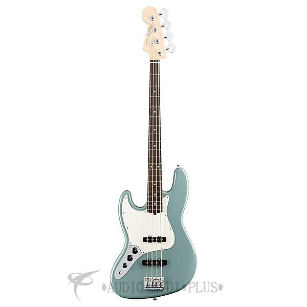 Custom Fender American Pro Jazz Rosewood FB LH 4 String Electric Bass Guitar Sonic Gray - 0193920748 #1 image