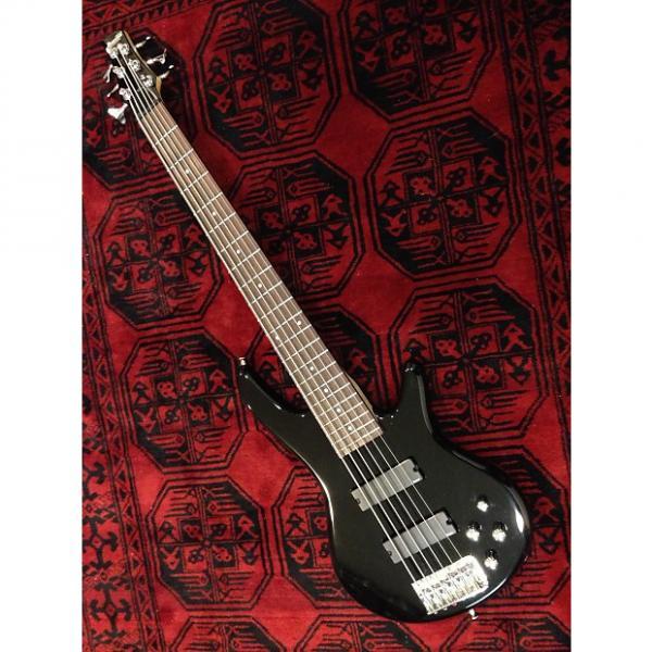 Custom Ibanez GSR206BK Gloss Black w/ Rosewood Fretboard #1 image