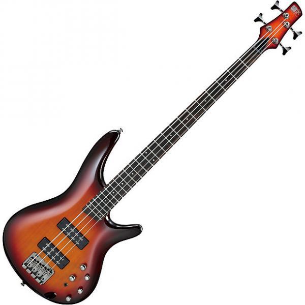 Custom Ibanez SR Standard SR370E Electric Bass Aged Whiskey Burst #1 image