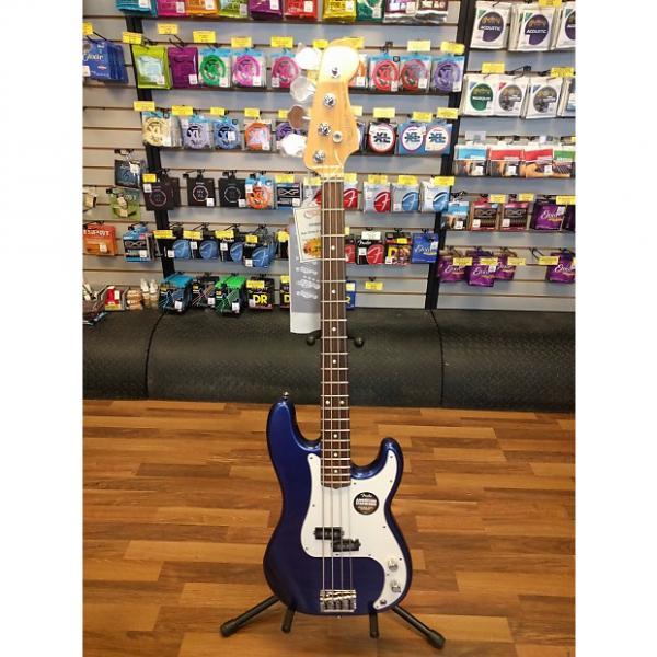 Custom Fender American Standard Precision Bass  Blue #1 image