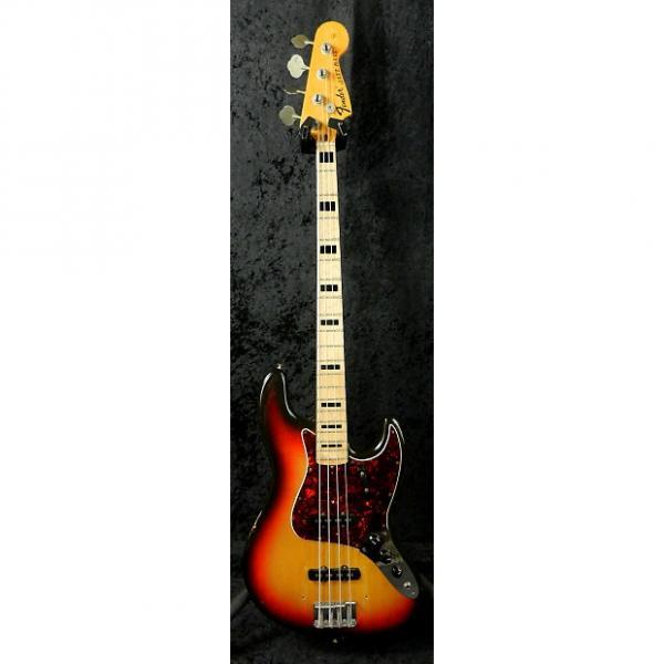 Custom Fender Jazz Bass 1972 3 Tone Sunburst #1 image