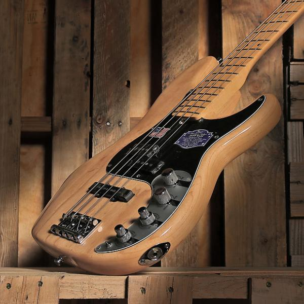 Custom Fender American Deluxe Precision Bass Ash Maple Neck Natural #1 image