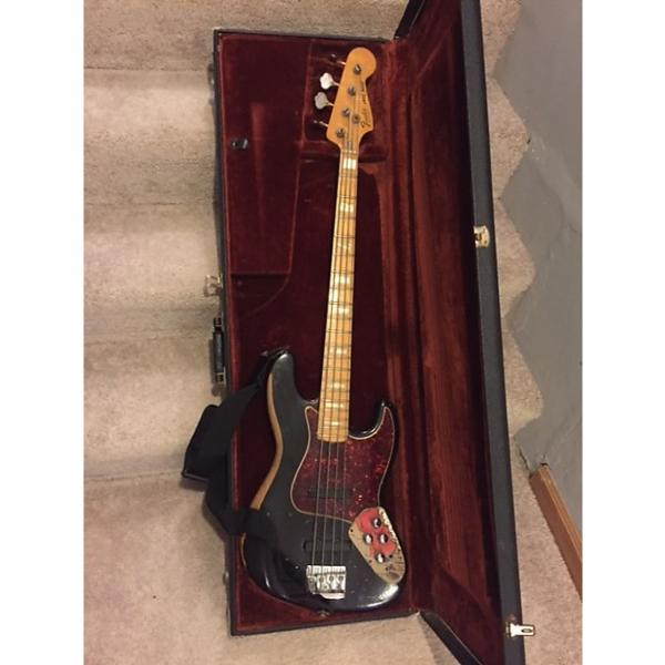 Custom Fender Jazz Bass 1978 Black #1 image
