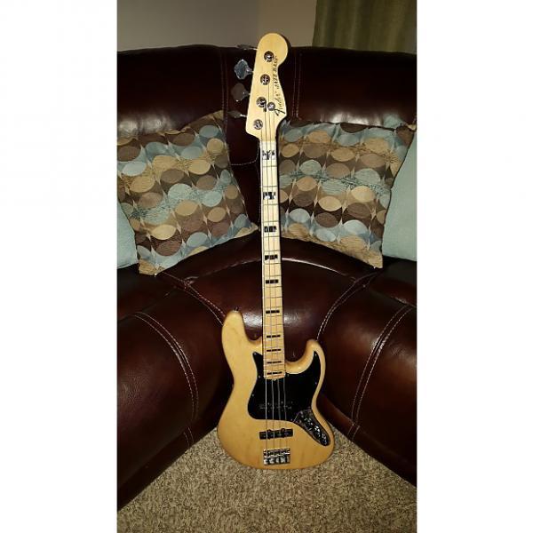 Custom Fender American Deluxe Jazz Electric Bass 2013 Maple #1 image