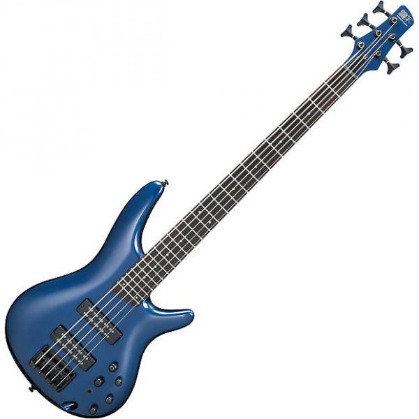 Custom Ibanez SR Standard SR305EB 5 String Electric Bass Navy Metallic #1 image