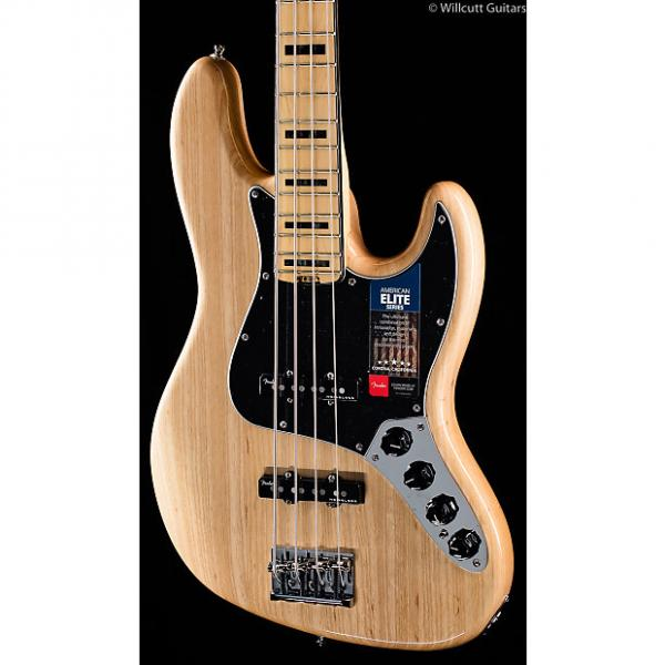 Custom Fender American Elite Jazz Bass Natural (737) #1 image