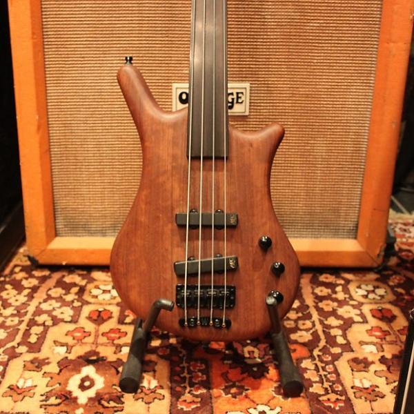 Custom 2008 Warwick German Thumb Fretless Bolt-On BO 4 5 String Electric Bass Guitar #1 image