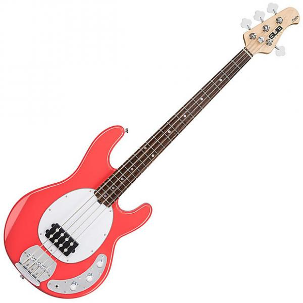 Custom Sterling Ray4 FRD 4-String Electric Bass Guitar #1 image