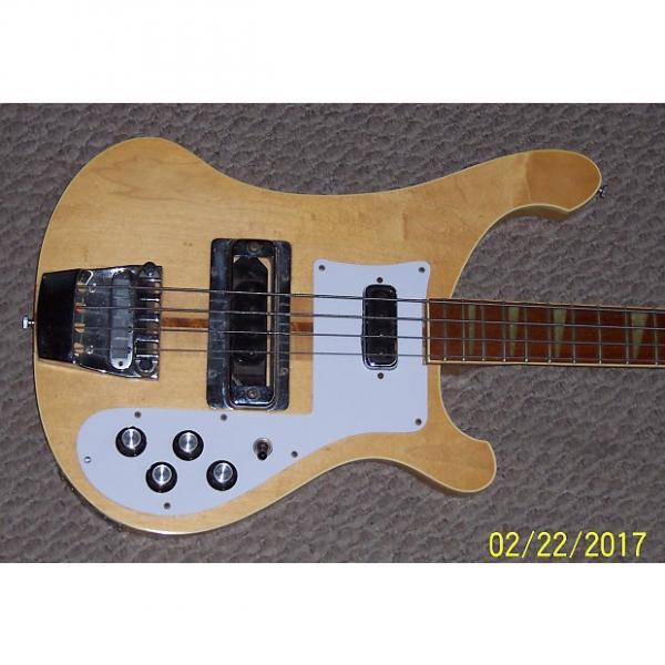 Custom Rickenbacker 4001 Bass 1975 Maple Glo Natural #1 image