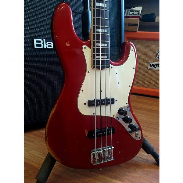 Custom Fender Jazz Bass 1971 Candy Apple Red (Rare Color - Matching Headstock) #1 image