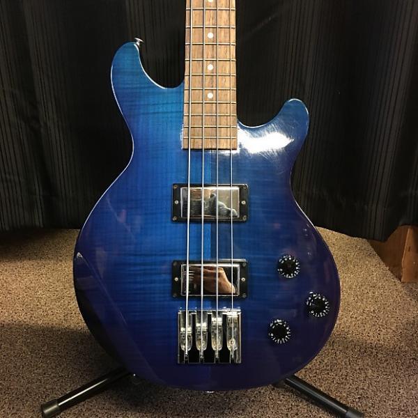 Custom Gibson Les Paul Money Bass 2007 Midnight Manhattan Blue #1 image