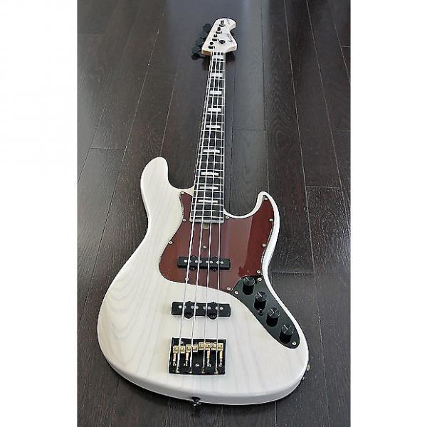 Custom Bacchus woodline 2017 White Anniversary Bass #1 image