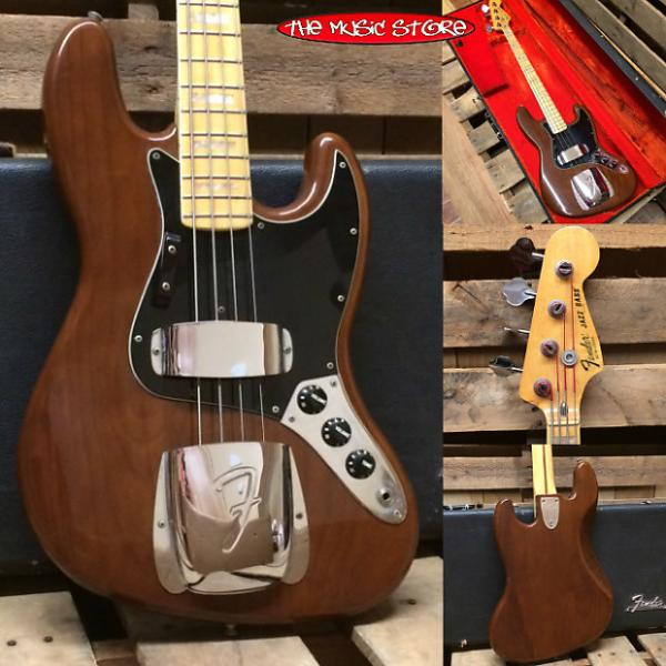 Custom Fender Jazz Bass c1978 Walnut (Ash) w/Original Case (FREE Shipping) #1 image
