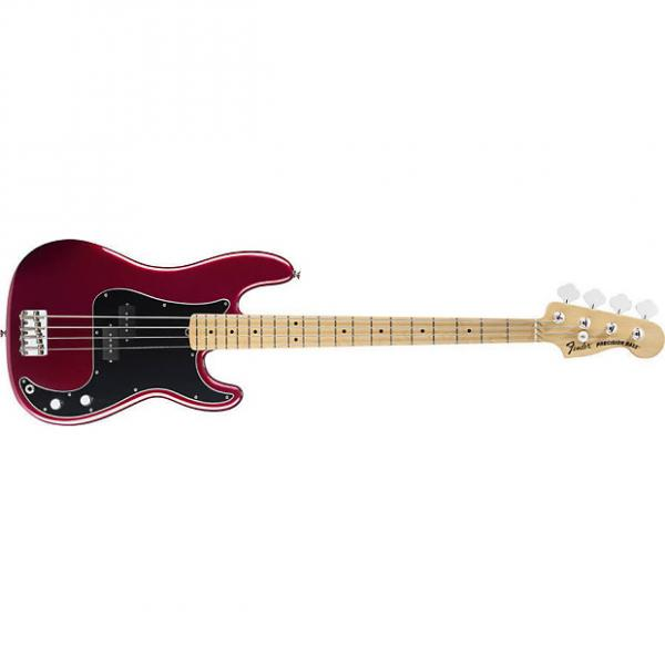 Custom Fender American Special Precision Bass Maple Candy Apple Red With Gig Bag #1 image