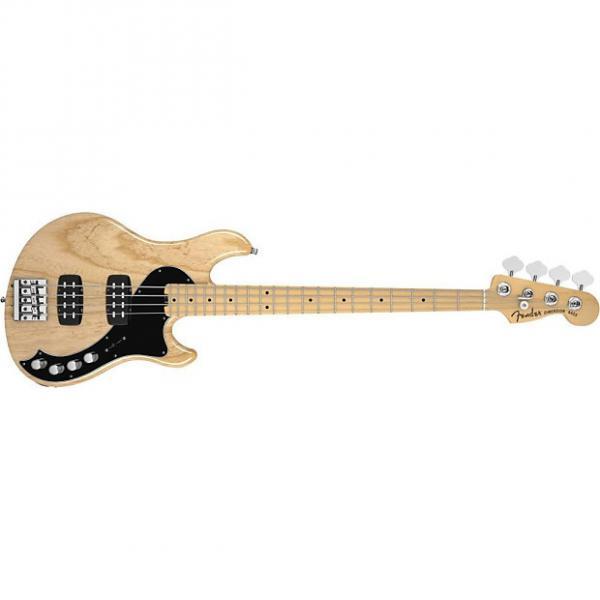 Custom Fender Deluxe Dimension Bass IV, Maple Fingerboard, Natural 142612321 #1 image