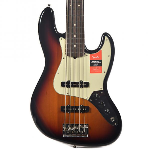 Custom Fender American Pro Jazz Bass V RW 3-Color Sunburst #1 image