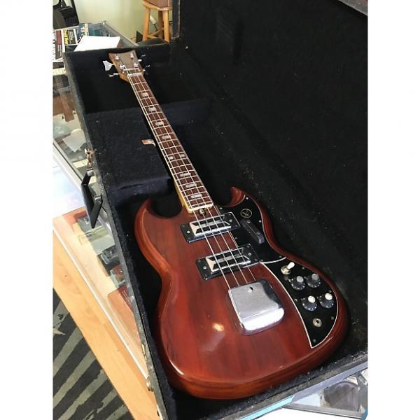 Custom Kay 2B Bass 1980's Brown #1 image