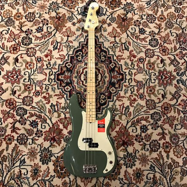 Custom Fender American Professinal Prescision Bass Olive #1 image