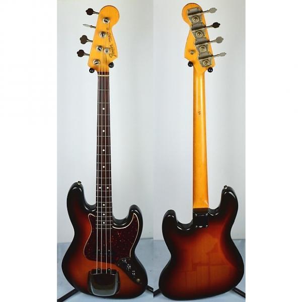 Custom Fender '62 American Vintage Reissue Jazz Bass 1990s 3 Color Sunburst #1 image