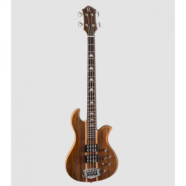 Custom NOS BC Rich Greg Weeks Koa Eagle bass. Neck Thru. Rockfield PUs, Aguilar preamp. #1 image