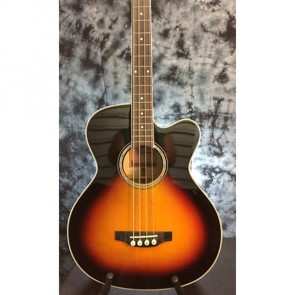 Custom Takamine  GB72CE-BSB Jumbo Bass - Solid Spruce Top & Flame Maple Back - Acoustic Electric #1 image