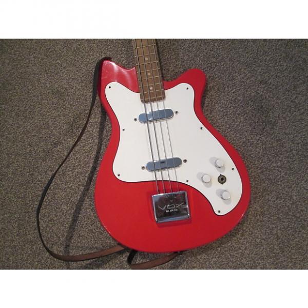 Custom Vox Clubman bass 1961-5 red #1 image