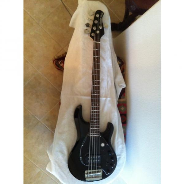 Custom Sterling by Music Man Ray35  Black 5 string Bass #1 image