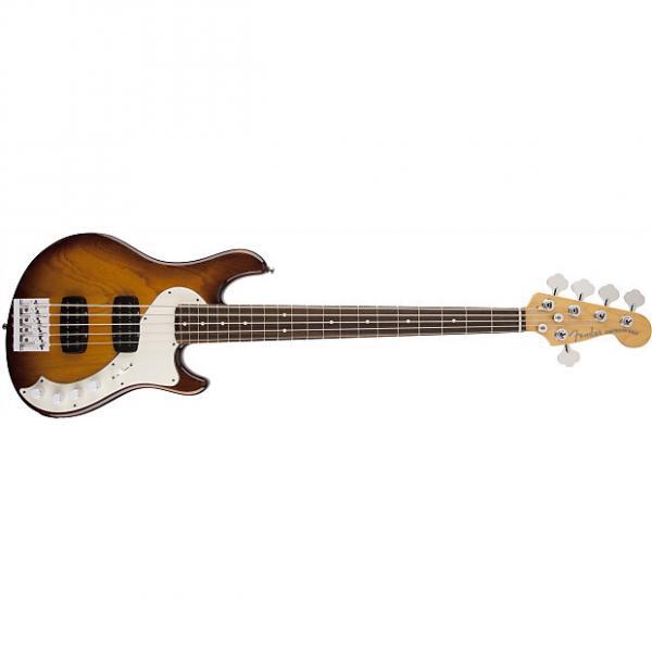 Custom Fender American Deluxe Dimension䋢 Bass V HH, Rosewood Fingerboard, Violin Burst 0195700733 #1 image