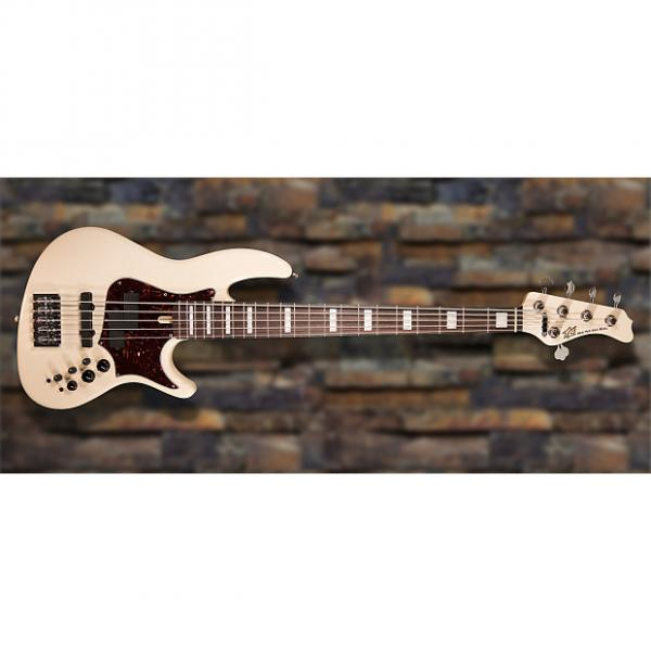 Custom New York Bass Works Reference Series RS5-22 PJ alder/rosewood #1 image